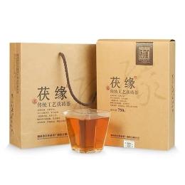 茯缘750g 白沙溪原叶金花茯茶