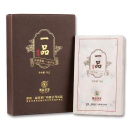湘益一品茯茶1kg 经典金花茯茶